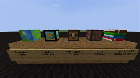 Minecraft Heads Decoration by Other Custom Heads For Decoration Brawl