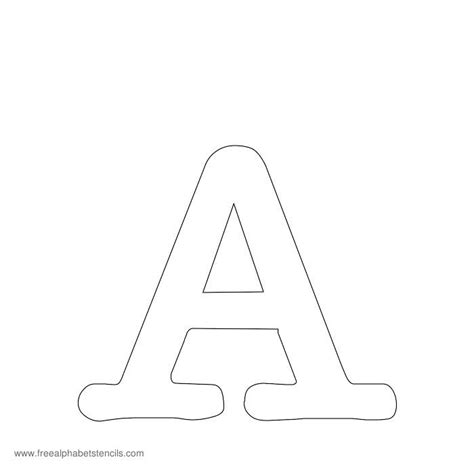printable stencils of the alphabet alfabeto stencil 38 9732