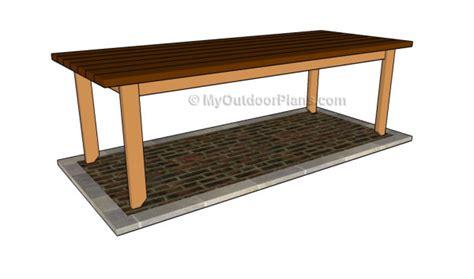 farm bench plans farm table plans myoutdoorplans free woodworking plans