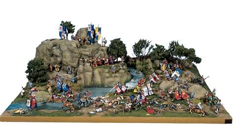 figure diorama king arthur in combat diorama 7 30 mm exclusive dioramas