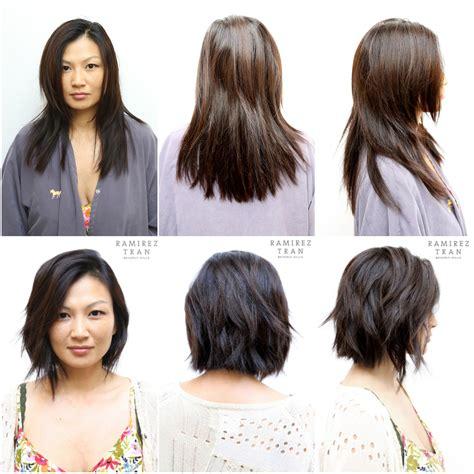 how to cut short hair yourself short chic cut the salon in la ramirez tran salon