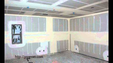 12 ceiling what to do why do they install a middle section of drywall in walls taller than 8 foot
