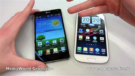 G Samsung S3 Confronto Lg Optimus G Vs Samsung Galaxy S3 Ita By Appsparadise