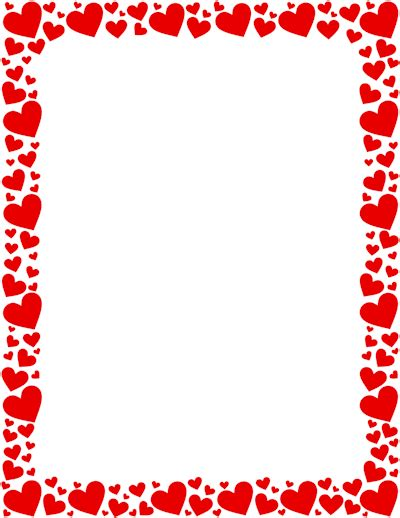 valentine s borders and more