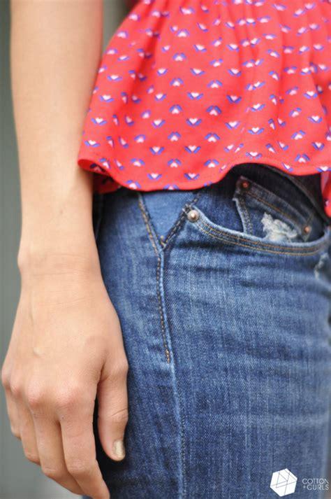 how to make waist take out your jean s waistband tutorial aka make your