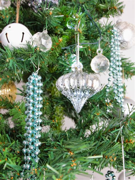 diy christmas beaded ornaments basil and chaise