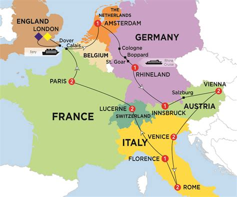 switzerland map europe roundtripticket me