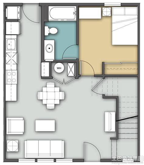 sheryl four bedroom two story 单身公寓设计平面图 土巴兔装修效果图