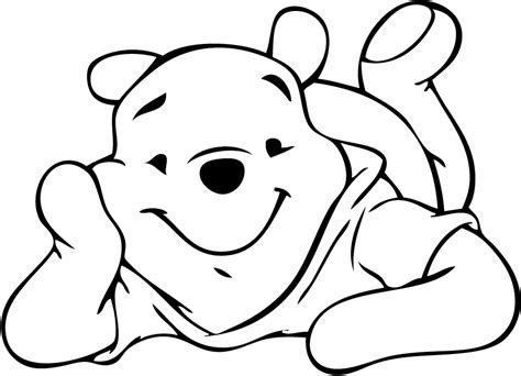 dibujos para colorear winnie pooh winnie the pooh drawings coloring home