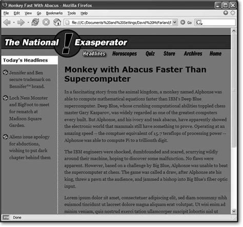 Dreamweaver 8 The Missing Manual section 8 9 css layout tutorial dreamweaver 8 c the
