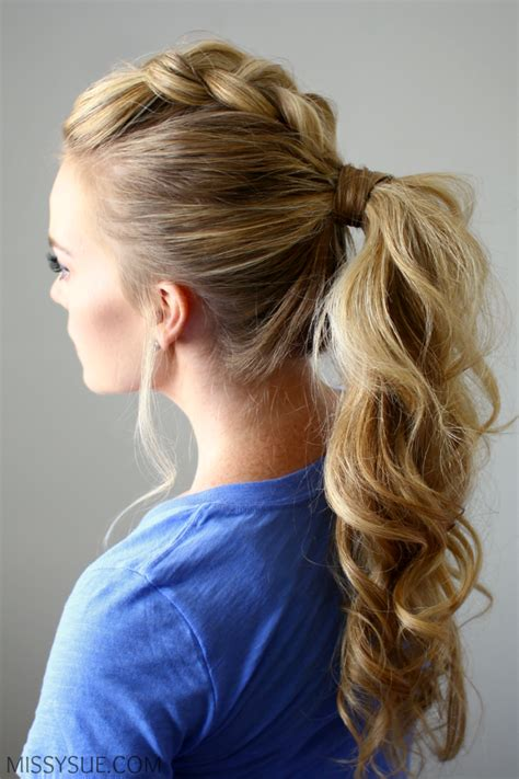 cute rodeo hairstyles pony up creative ponytail hairstyles page 5 of 5
