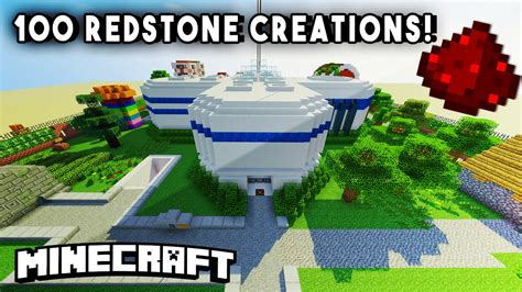 redstone house incredible redstone house w 100 redstone mechanisms redstone creations part 1