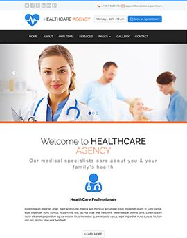 bootstrap themes free health free bootstrap templates from www bootstrap template com