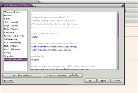 centrar imagenes latex linux and me tips para configurar un documento en lyx