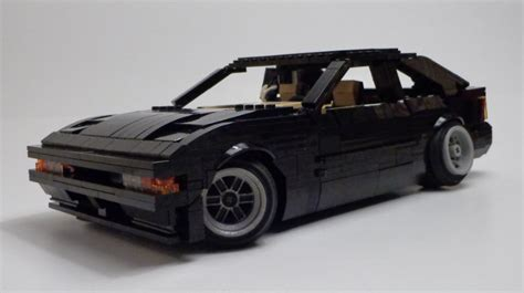 lego toyota supra stanced celica supra the lego car