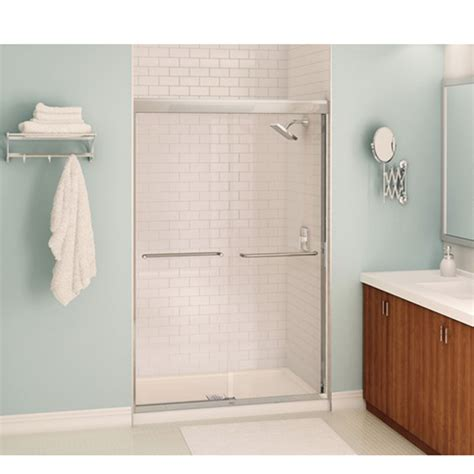 rona bathroom showers quot aura quot shower door rona