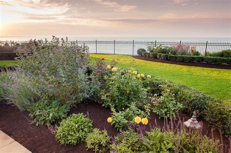 a and j landscaping lakefront property gets a european inspired makeover turf
