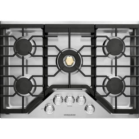 monogram cooktop monogram 30 quot gas cooktop stainless steel at pacific sales