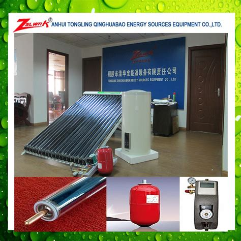 Solar Water Heater Honeywell Swh 200l best selling 200l separate flat roof mounted solar water