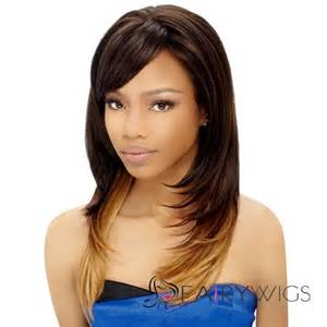 Hairstyles with side bangs straight weave hairstyles with side bangs