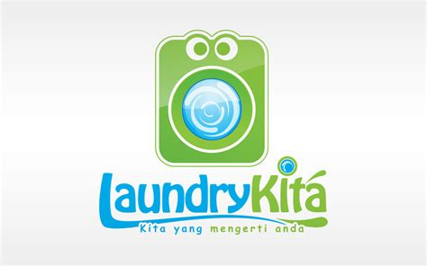logo design laundry service laundry kita logo by vrozzycreative on deviantart