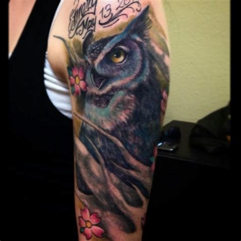 tattoo owl realistic goliath tattoo studio tattoos realistic owl tattoo