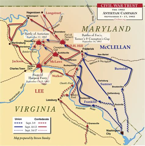 Civil Search Md Maryland Caign 1862 Civil War Trust