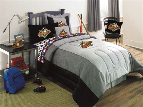 mlb bedding baltimore orioles bedding mlb authentic team jersey twin