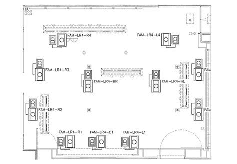 Ceiling Speaker Layout by Stealth Acoustics Introduces Invisible Speaker Range For