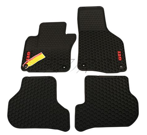 Mats Gti by 1k1061550041 Genuine Vw Floor Mat Set All Weather Gti Black Free Shipping Available