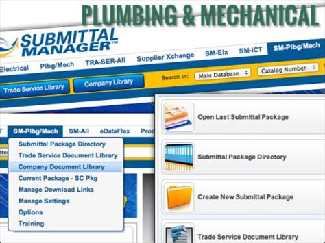 Plumbing Msds Sheets by Submittal Manager For Contractors Trade Service