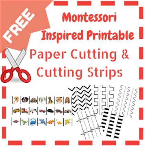 printable montessori materials free paper cutting printables resources for the