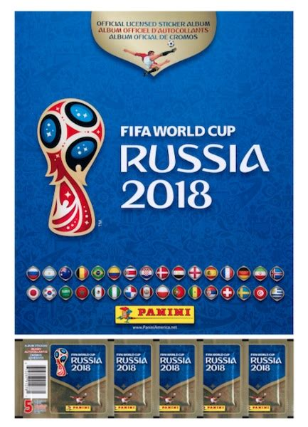 Panini Stickers Russia 2018 2018 panini world cup stickers checklist set list boxes
