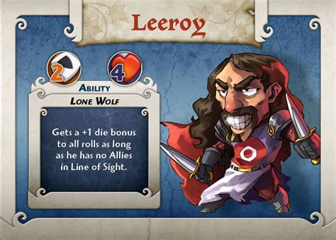 Arcadia Quest Characters Aeric kauf brettspiele arcadia quest boardgame character leeroy archonia