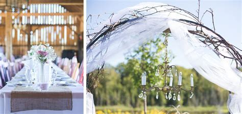 Wedding rentals for vintage, rustic, elegant decor