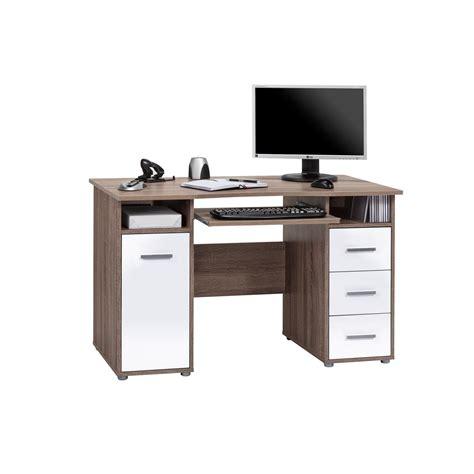 schreibtisch weiß mit tastaturauszug computertisch mit tastaturauszug b 252 rozubeh 246 r