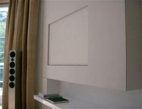 fernseher verschwinden lassen monitor lift archive tv lift projekt