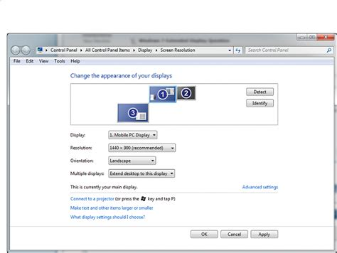 windows 7 extended display question windows 7 help forums