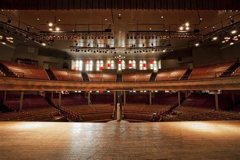 auditorium theater seating don at ryman auditorium nashville tn oct 18 2015