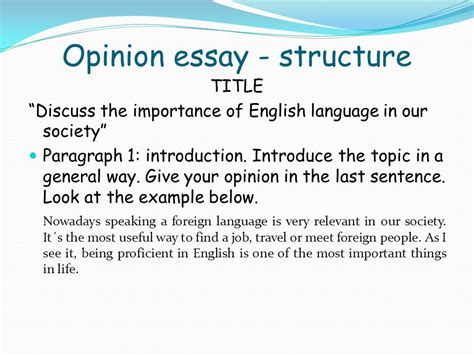 The Importance Of In Peoples Essay by Unit 4 Colegio Academia Preuniversitaria Ppt