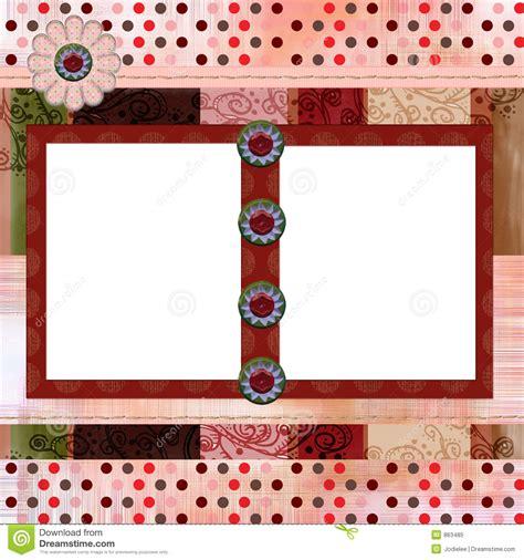 scrapbook album layout bohemian gypsy style scrapbook album page layout 8x8