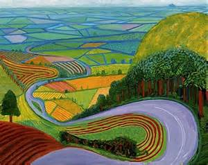 Landscape Pictures By David Hockney David Hockney At The Ra A Stroll Through The Countryside
