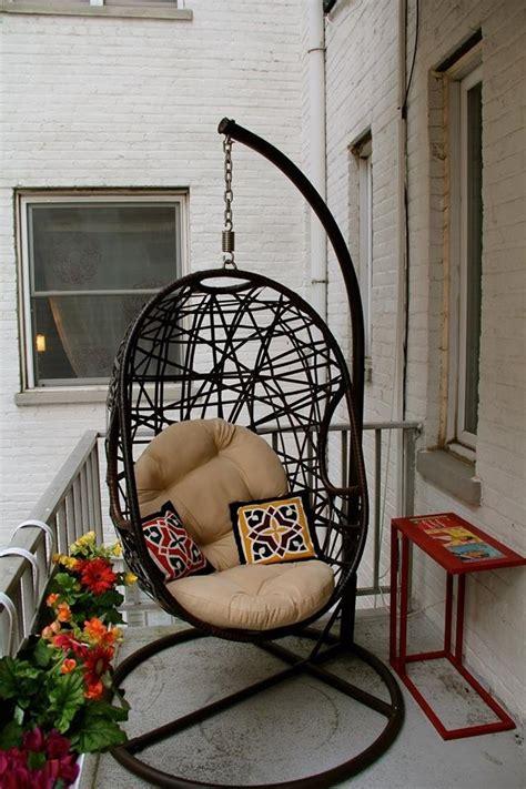 balcony swing chair wonderful balcony hammocks and hanging chairs you should