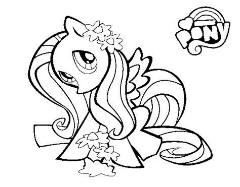 moon pie coloring page dibujo de fluttershy para colorear dibujos net