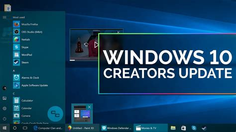 tutorial on microsoft windows 10 windows 10 creators update tour