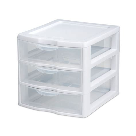 small plastic drawers australia new sterilite small 3 drawer unit for bathroom or laundry