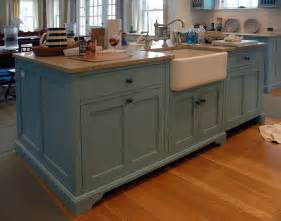 Furniture Style Kitchen Island by Painted Pine Desk Cabinet Dorset Custom Furniture Dan