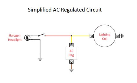simple ac current diagram simple free engine image for