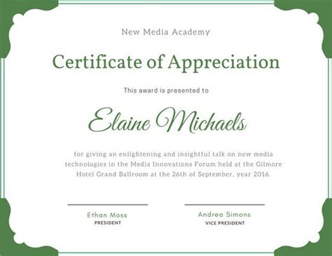customize 99 professional certificate templates
