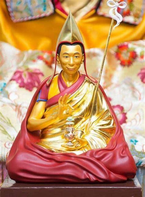 Geshe La My Kind Spiritual Guide Statue Buddhism New